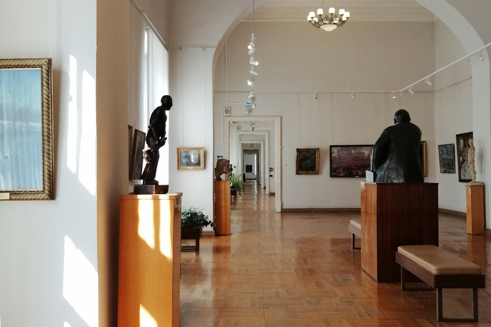 Коллекция музея стоит того, чтобы заглянуть сюда, даже если регулярно ходите в Третьяковку