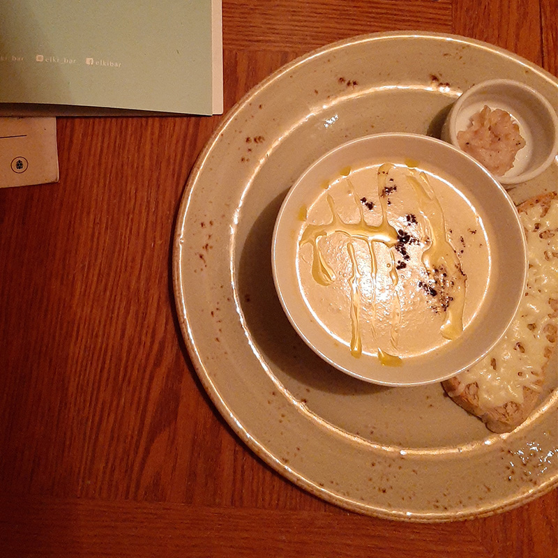 Мой сырный суп, порция большая исытная