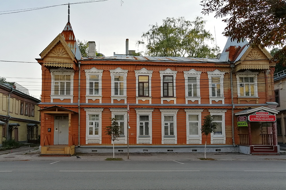 Дом наулице Радищева