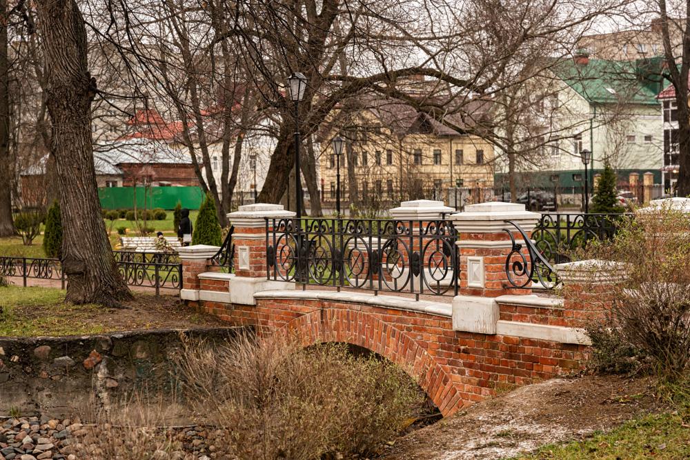 Парк получился симпатичный и ухоженный, но, на мой взгляд, надолго задерживаться в нем скучно. Источник: Татьяна Акимова