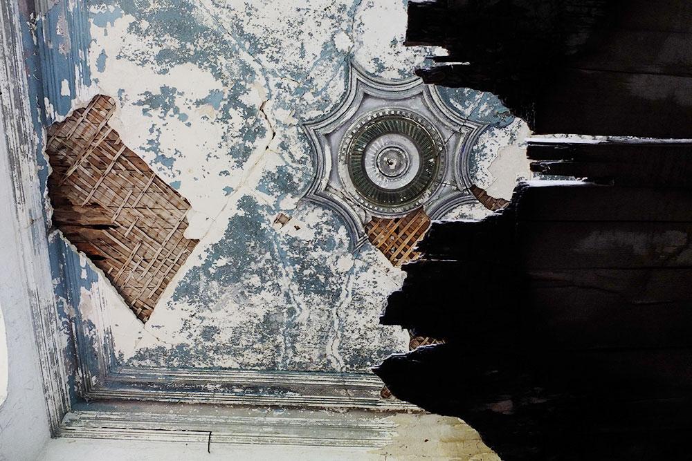 Несмотря наполуразрушенное состояние, это досих пор самый красивый дом вАскулах