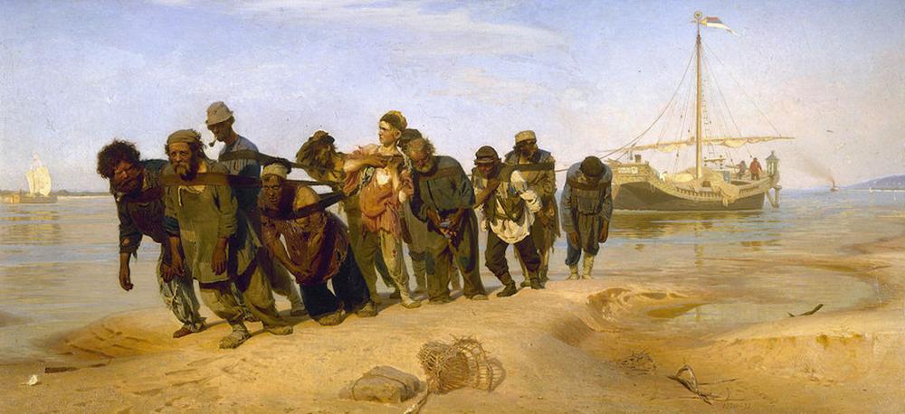 Художник Илья Ефимович Репин прожил несколько месяцев в Ширяеве, где зарисовывал бурлаков. Так потом появилась картина «Бурлаки на Волге»