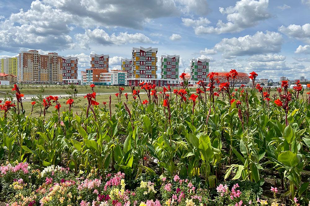 Саранск иногда называют столицей цветов иклумб. Вгороде ихдействительно много, изаними регулярно ухаживают