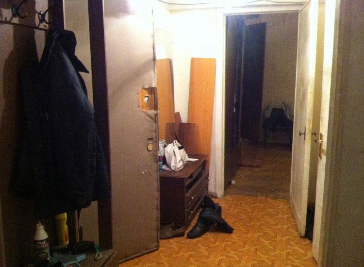 Квартира после отъезда предыдущих жильцов