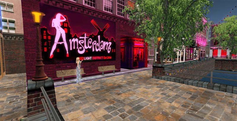 Скриншот из Second Life