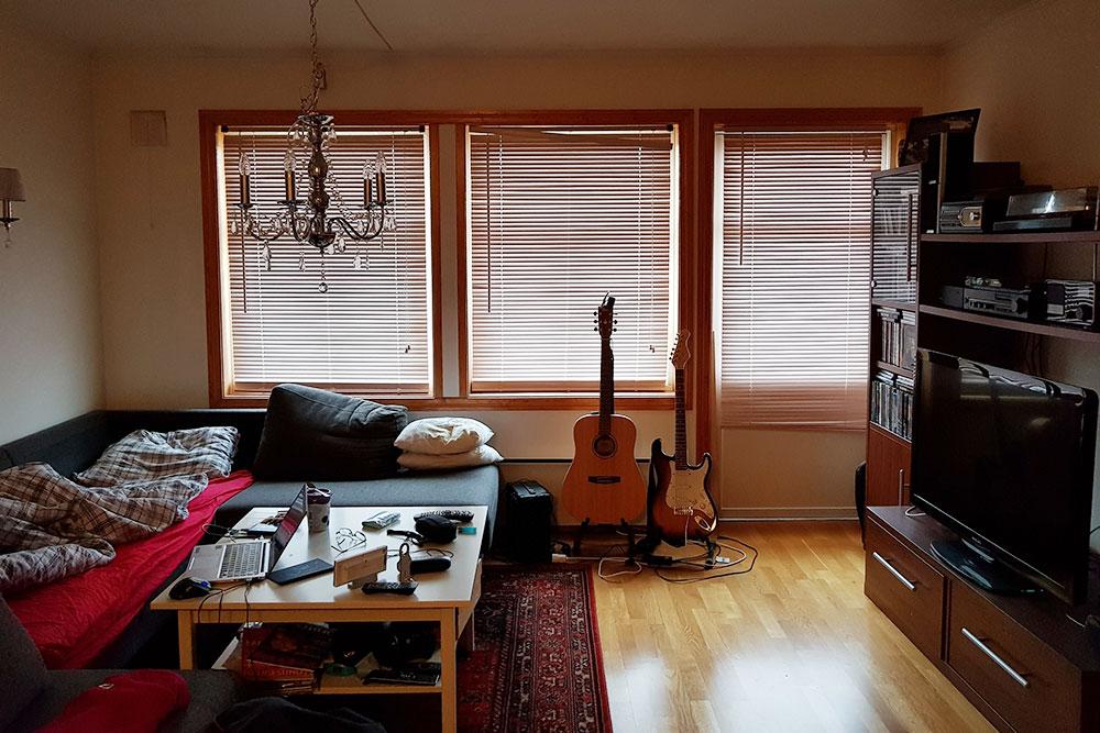Квартира хоста в городе Осло в Норвегии