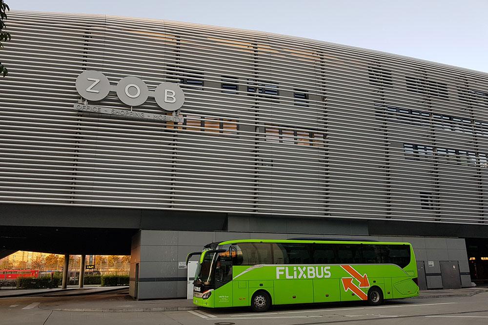 В автобусах Flixbus есть вайфай, розетки и туалет