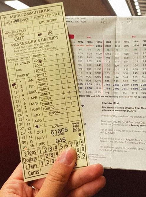 Билеты на поезд Провиденс — Бостон в США