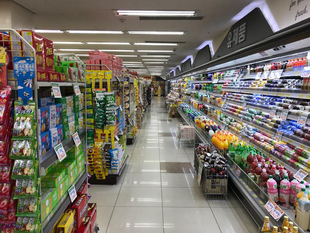 «Супермаркет» по-корейски произносится как «матхы»