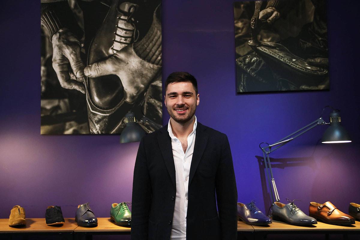 Бизнес: мужская обувь ручной работы