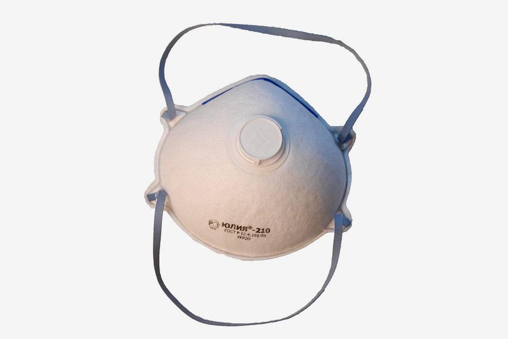 Респираторы бывают разных форм ивидов, они сделаны изнетканых материалов иобычно снабжены воздушным клапаном, безкоторого былобы сложно дышать