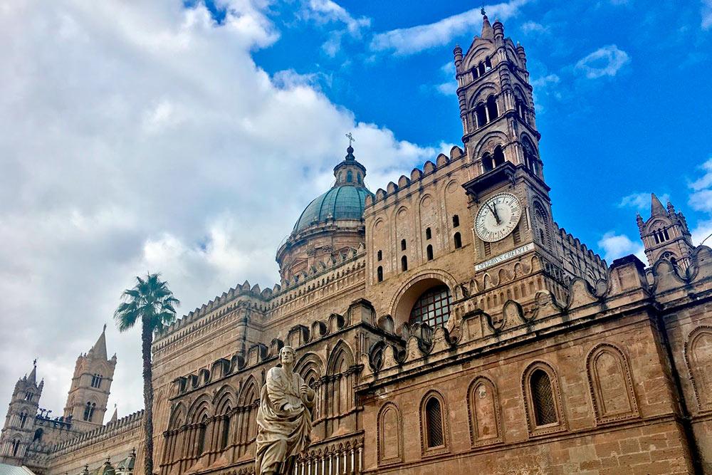 Кафедральный собор Палермо встиле барокко