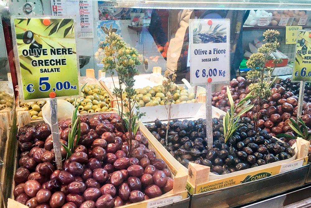Рынок Балларо вПалермо