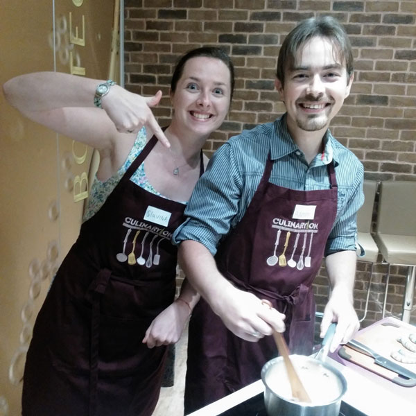 Мы на кулинарном мастер-классе