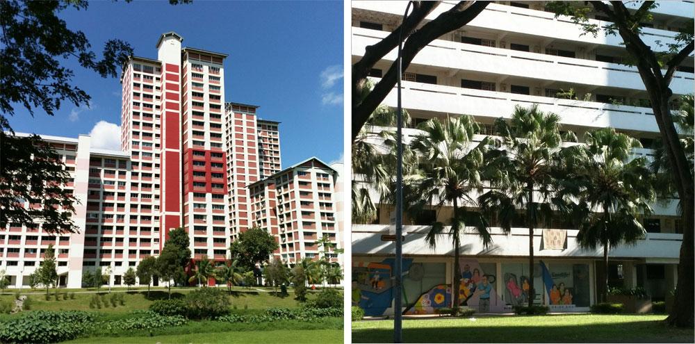 Так выглядит HDB — социальное жилье, аналог наших панельных многоэтажек