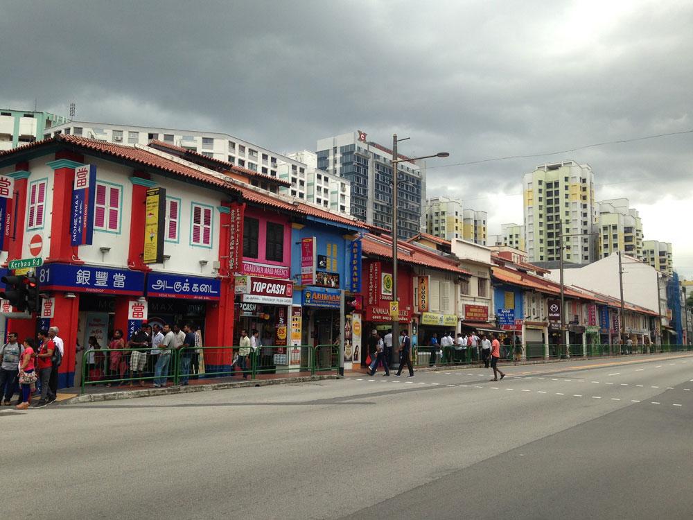 Сингапур — очень разнообразный город. Вот индийский квартал