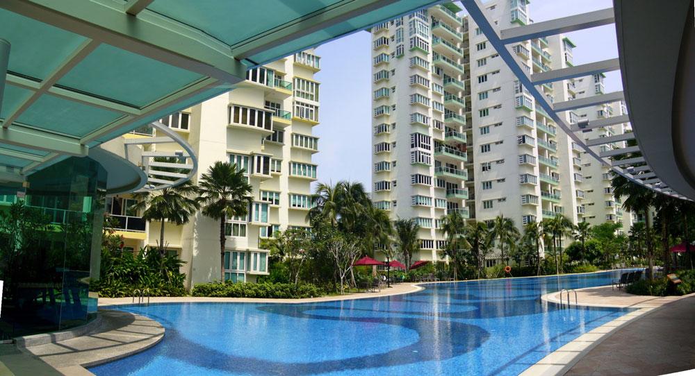 Типичный кондоминиум в Сингапуре, в одной из таких квартир я и ночевала. Фото: jEd dC