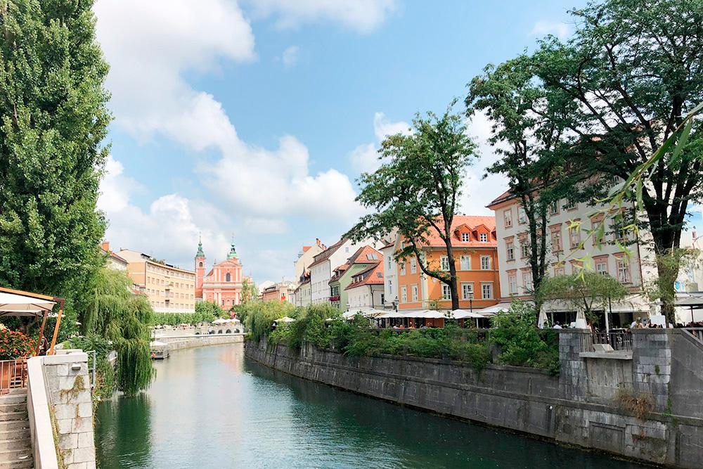 Любляну в 2016году назвали «Зеленой столицей Европы» благодаря хорошей экологии