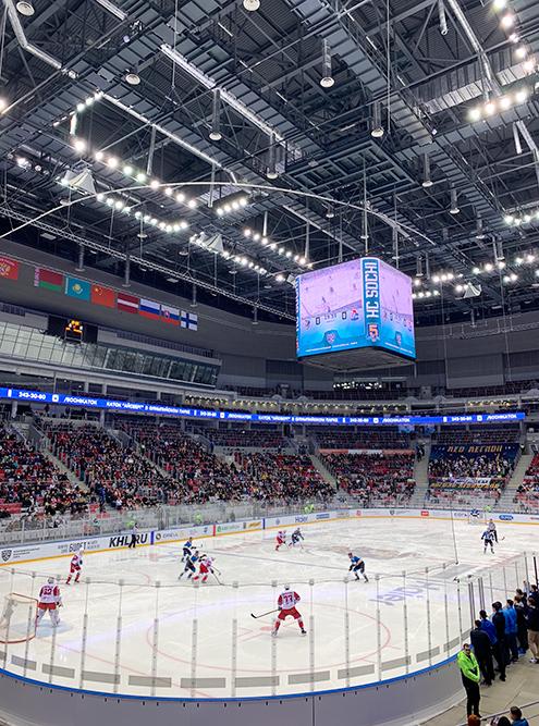 Я ходила на хоккейный матч, билет стоил 300 рублей