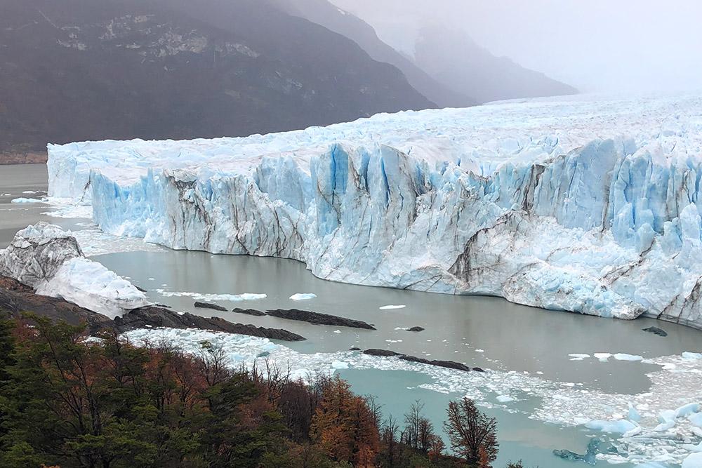 Ледник Перито-Морено в Аргентине