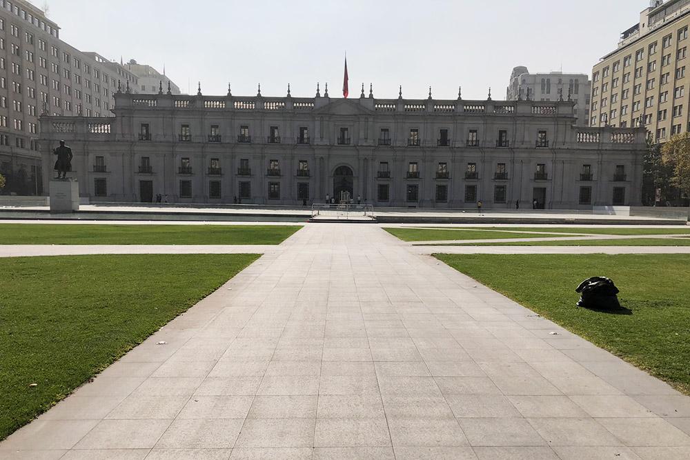 Ла-Монеда — официальная резиденция президента Чили Себастьяна Пиньеры Эченике в Сантьяго