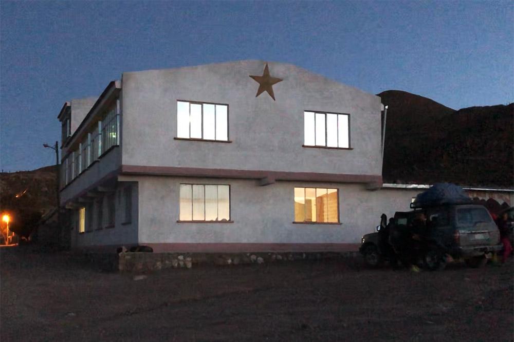 Отель «Хостал-дель-Соль», построенный из соли