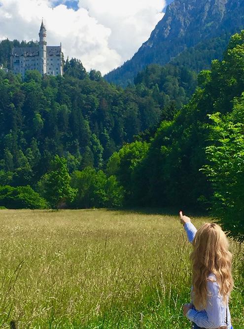 Первый раз я увидела замок Нойшванштайн восемь лет назад. С тех пор каждый раз я с восторгом прихожу на него посмотреть
