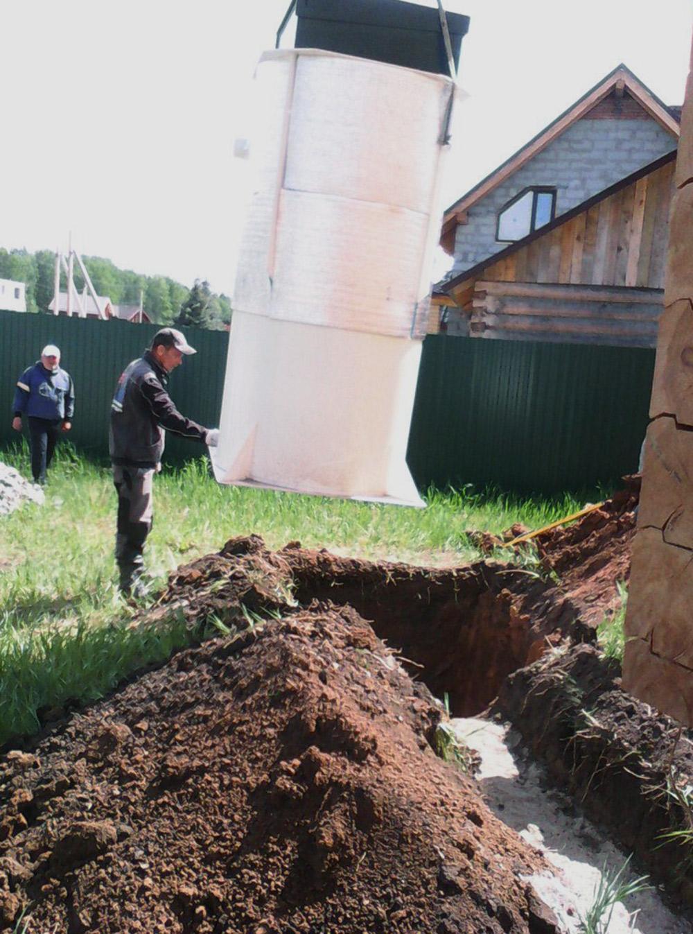 Если бы не ответственное хранение, эта канализация 3,5 месяца загромождала бы мой участок