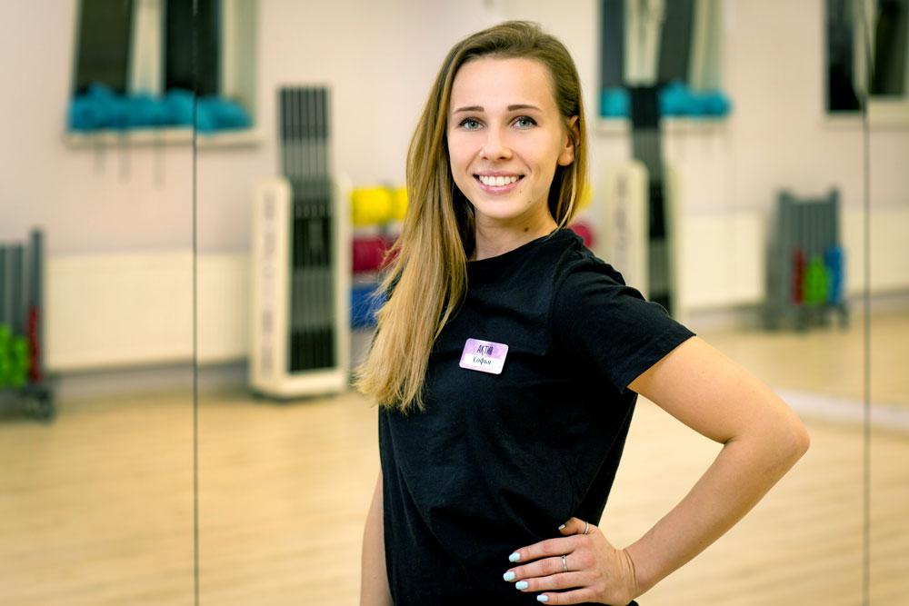 Соня Богданова, создатель студии фитнеса «Актив» в Королеве