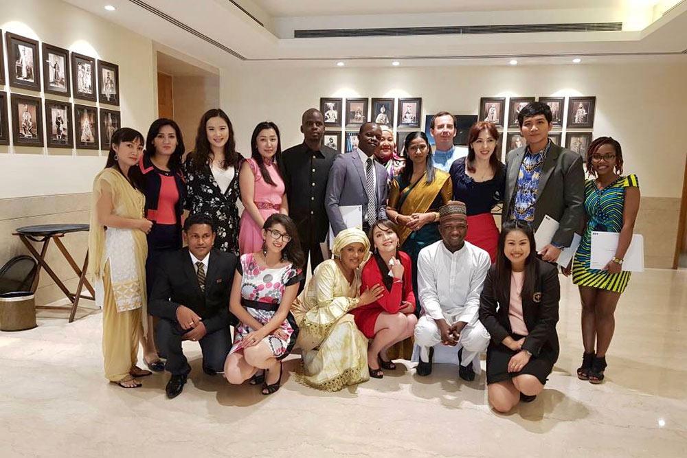 Наша интернациональная группа. За время учебы мы так сдружились, что до сих пор зовем себя NIIT-family — по названию университета