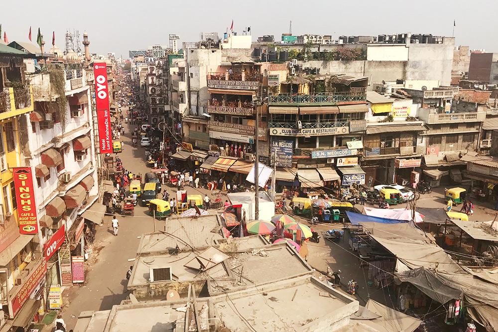 Один из районов Нью-Дели