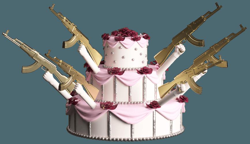 Сколько могла бы стоить ваша самая безумная свадьба?