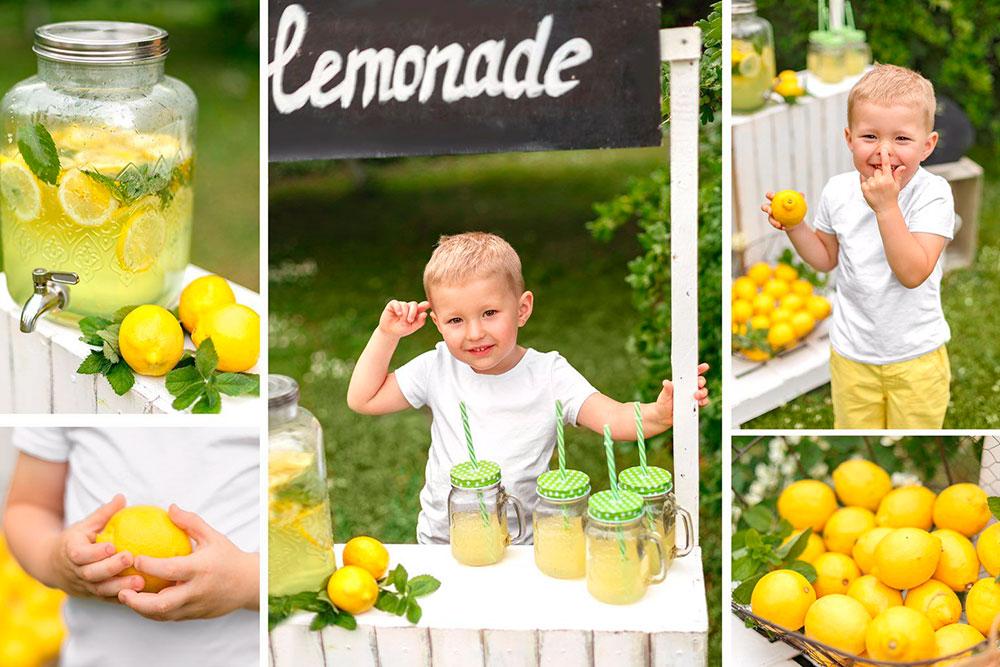 Сад гостевого дома — отличное место для фотосессий с маленькими детьми. Малыши расслаблены на природе и позируют с удовольствием