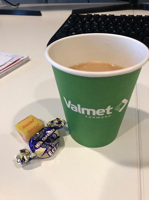Моя первая фика на стажировке в компании Valmet