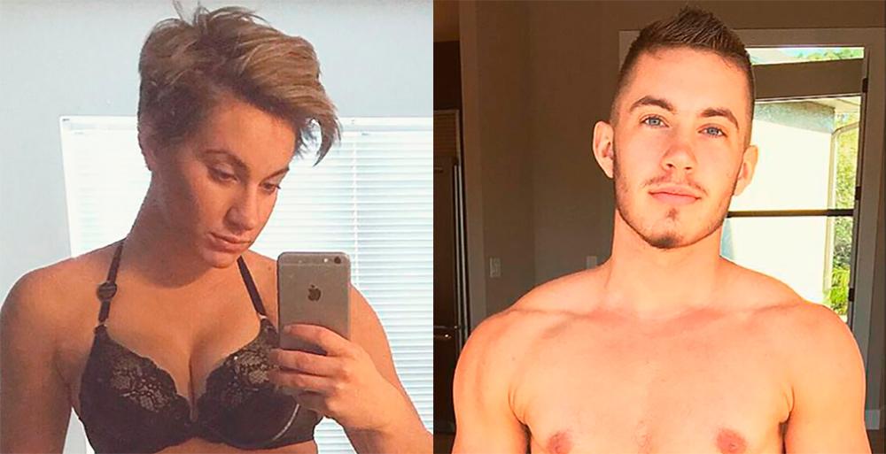 Трансгендерный мужчина: музыкант Джейми Уилсон до(слева) ипосле перехода. Источник: Women's Health