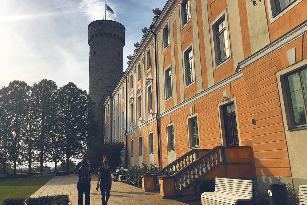 Высота Длинного Германа — 46 метров. Это самая высокая в Старом городе сторожевая башня