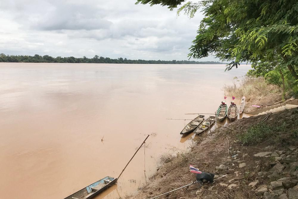 Меконг — крупнейшая река на полуострове Индокитай
