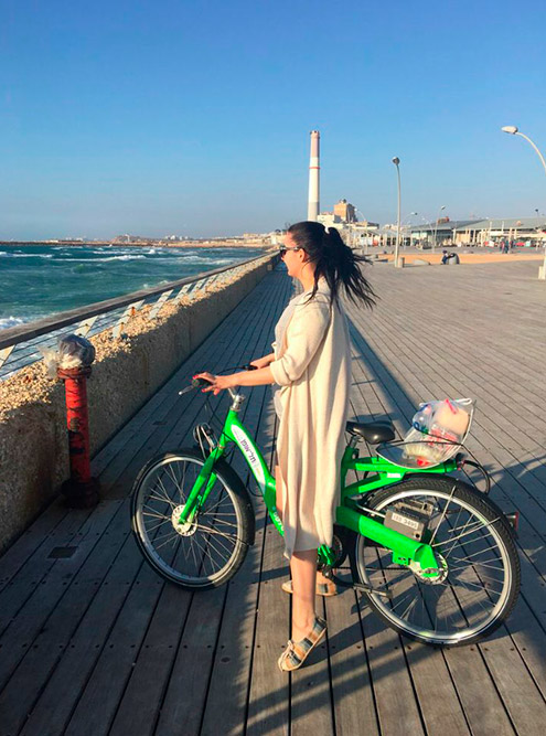 В городе около 2000станций «Тель-офан», поэтому велосипед можно вернуть безпроблем