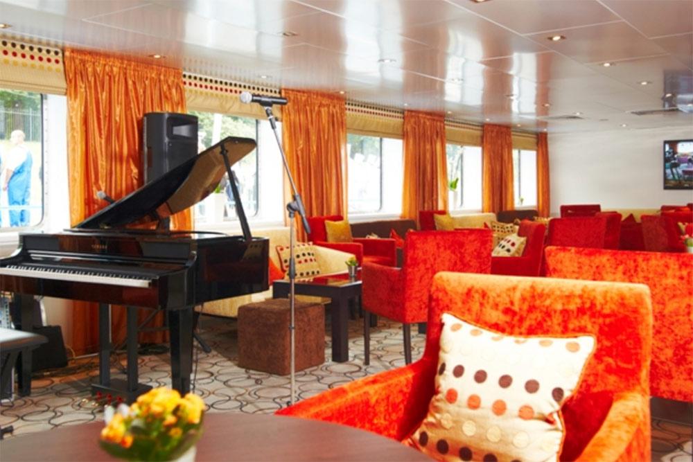 Музыкальная гостиная на«Сергее Есенине». Фото: «Букинг-мостурфлот»