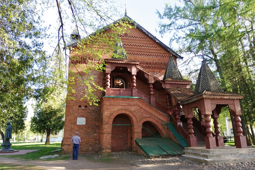 Палаты царевича Дмитрия, сына Ивана Грозного, вУгличе. Мальчика убили здесь, когда ему было восемь лет