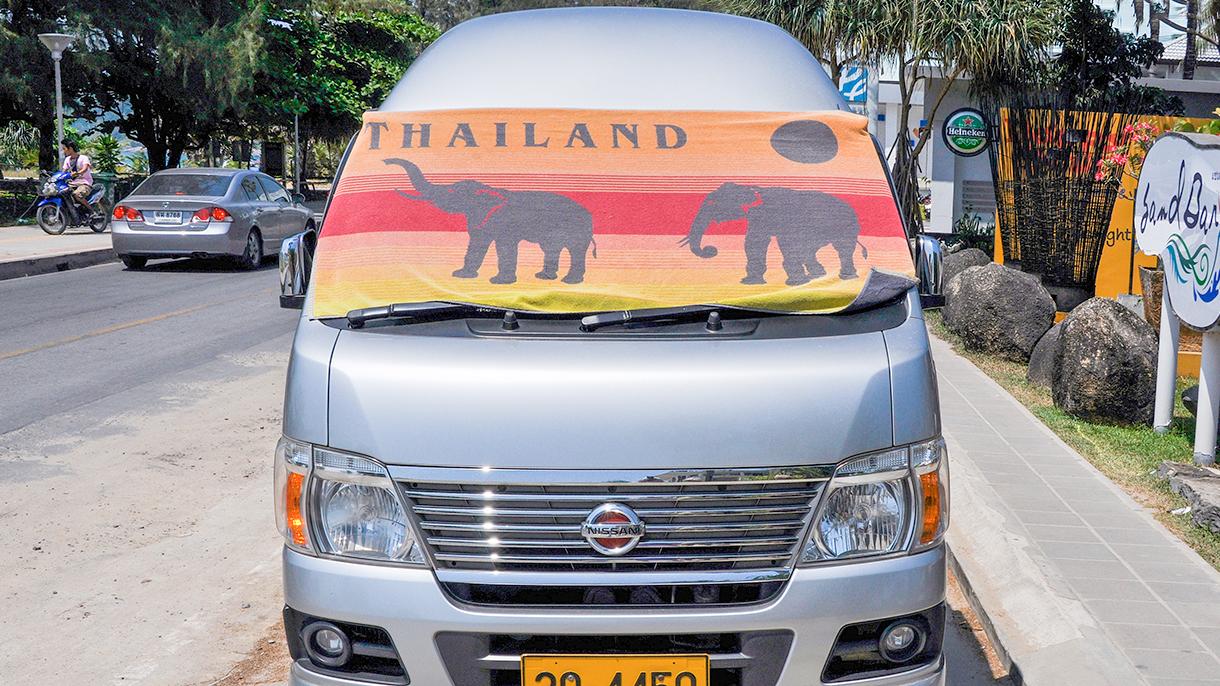 Как арендовать машину в Таиланде