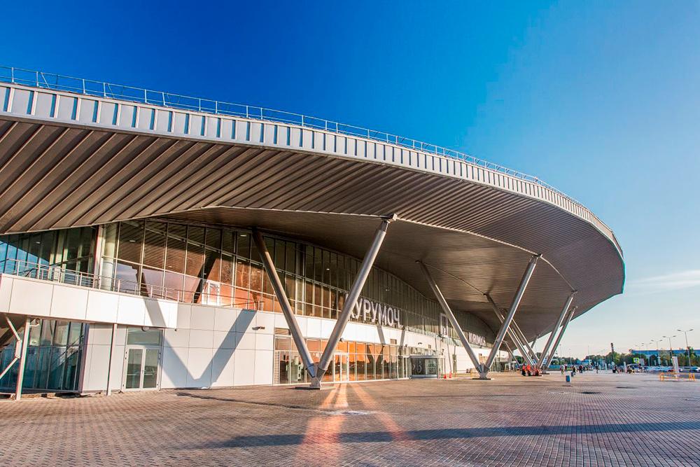 Новый терминал аэропорта Курумоч. Он заработал в декабре 2014 года. Фото: «Аэропорты регионов»