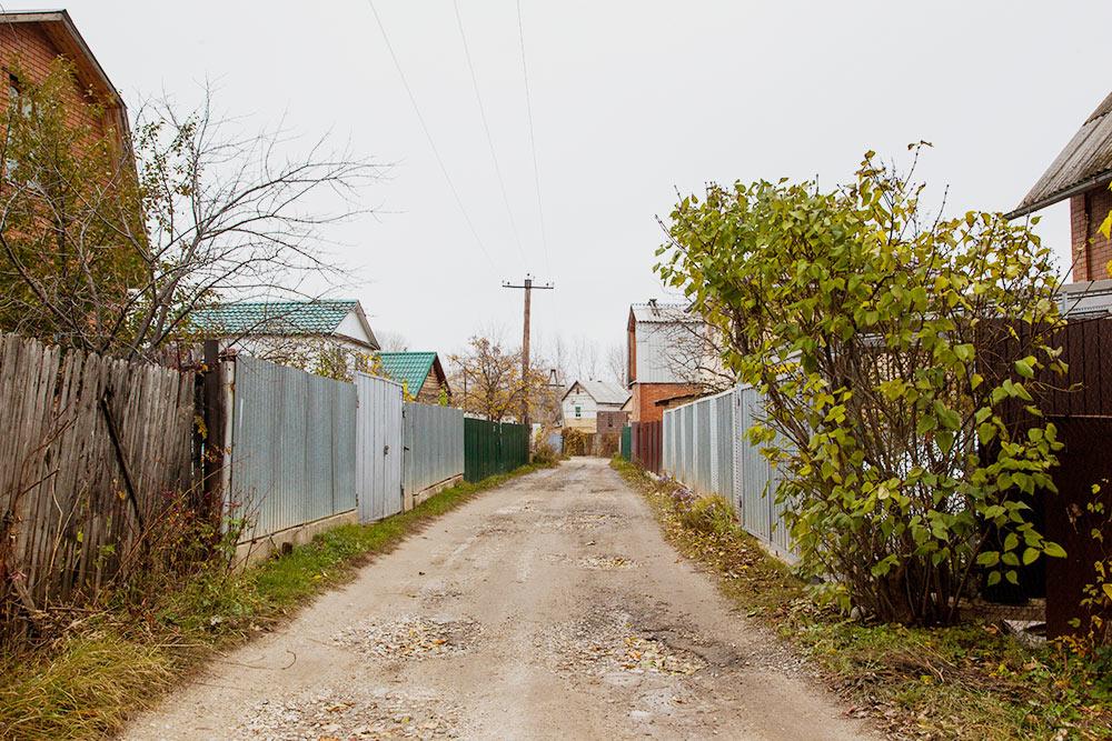Дачный массив на полуострове Копылово. Мои родители доезжают сюда из города за 50 минут