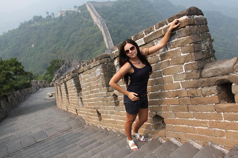 Менее популярная часть стены — Мутяньюй