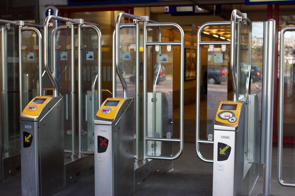Автоматы, к которым прикладывают билет