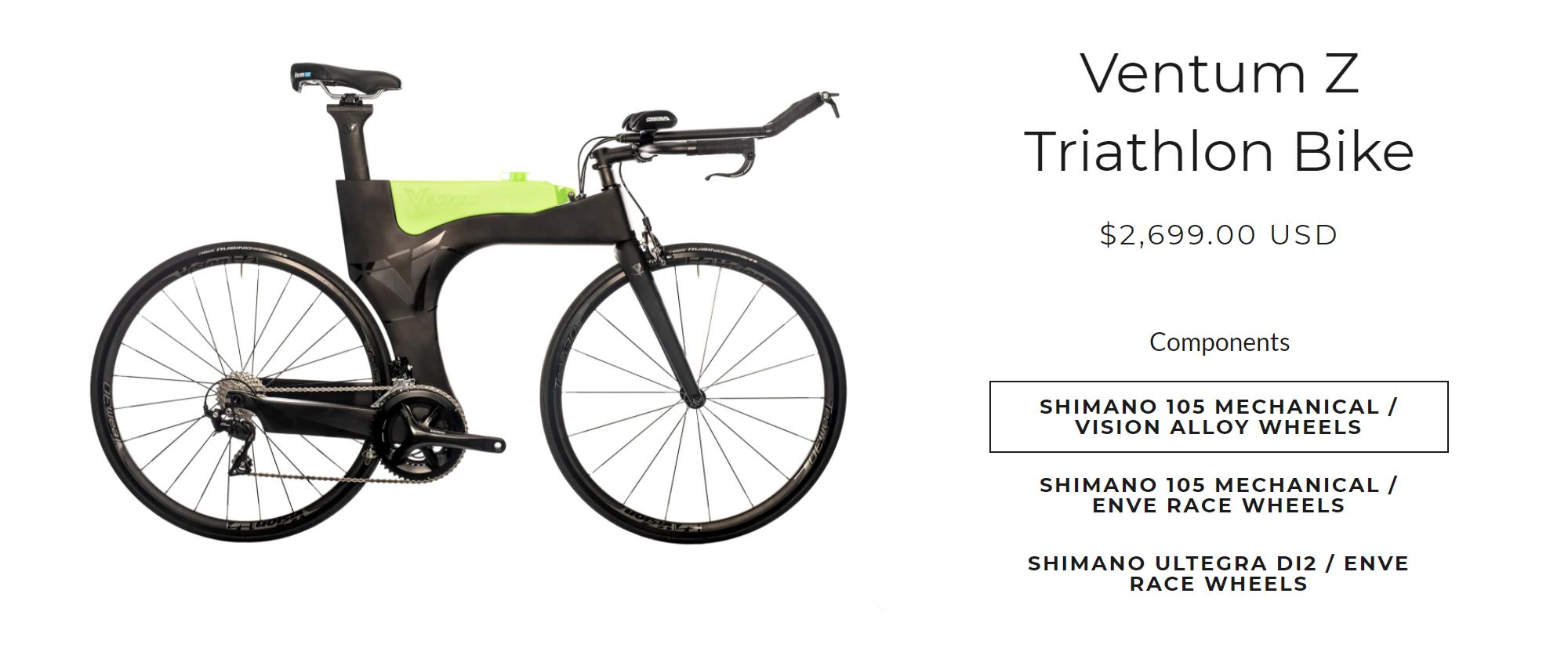 Мечта мужа — разделочный велосипед для&nbsp;триатлона за&nbsp;200&nbsp;000&nbsp;<span class=ruble>Р</span>. Источник: интернет-магазин Ventum