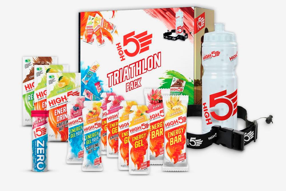 Некоторые бренды предлагают специальные комплекты питания дляпрохождения триатлона. Источник: официальный сайт маркиHigh5
