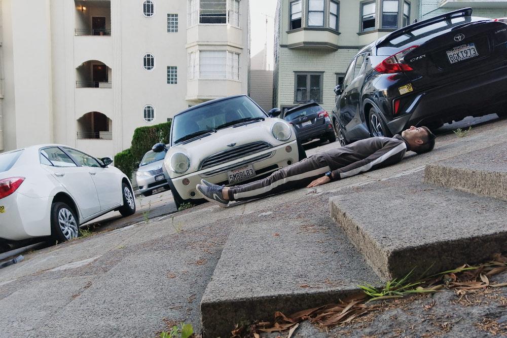 В Сан-Франциско мы постоянно удивлялись перепаду высот