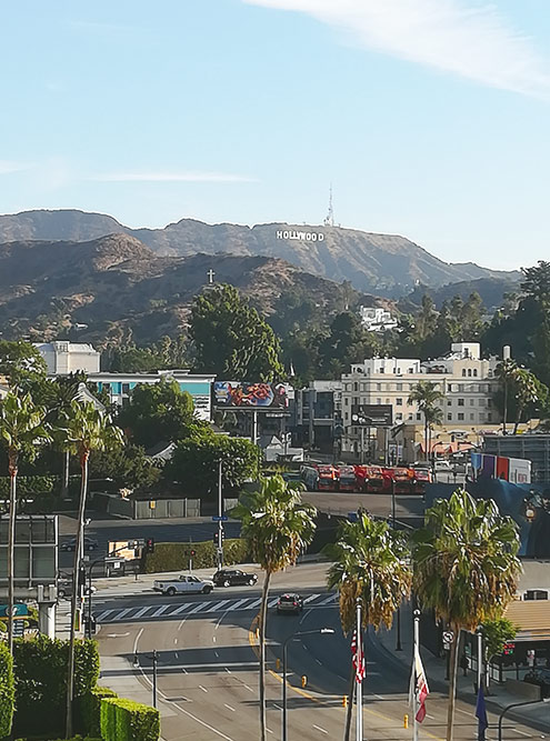 Знаменитые буквы Hollywood