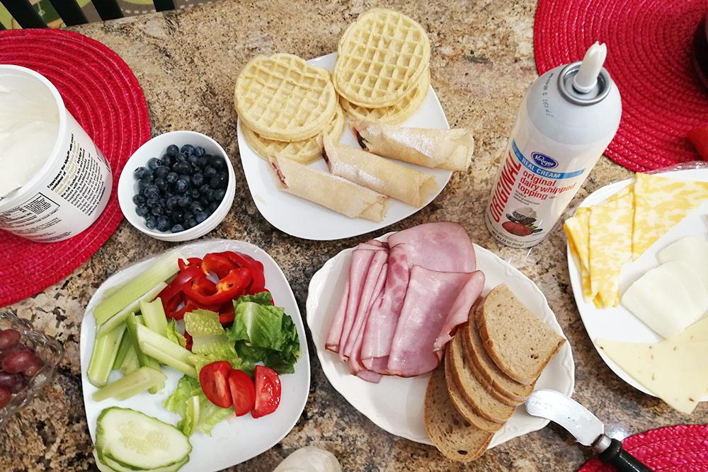 Домашние завтраки вдоме друзей в Денвере